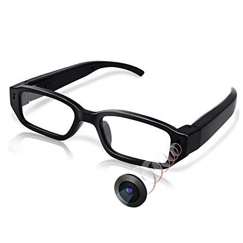 Versteckte hochauflösende Mini Überwachungs-Kamera in Einer Brille, Mini-DV-Brillen-Camcorder, Video-Kamera für Sport und zum Spionieren