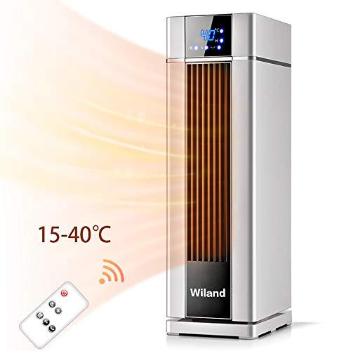 Radiateur Chauffage ,2000W Chauffage électrique avec télécommande,8 H,chauffage rapide pour salon salle de bains