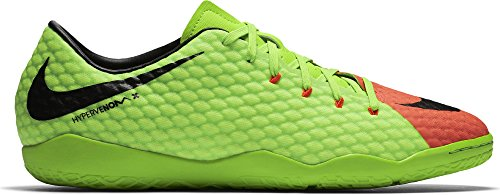 NIKE Mens Hypervenom Phelon III Indoor Soccer Shoes (8.5)