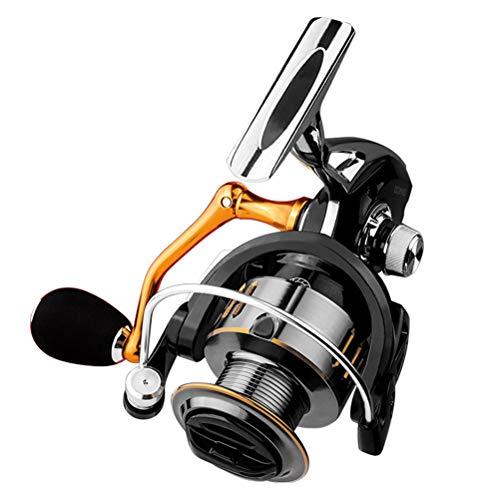 ABOOFAN 1 carrete de pesca carrete de metal Spinning carrete pesca engranaje mar poste rueda