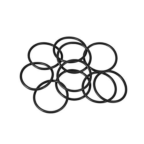 sourcing map 10pcs O-Ringe Nitrilkautschuk Gummi 30mm x 35mm x 2,5mm Dichtungsringe Dichtung DE de