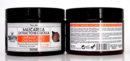 MI REBOTICA Mascarilla Capilar con Extracto de Cebolla |Mascarilla Nutritiva| 300ml.- PACK 2UN.