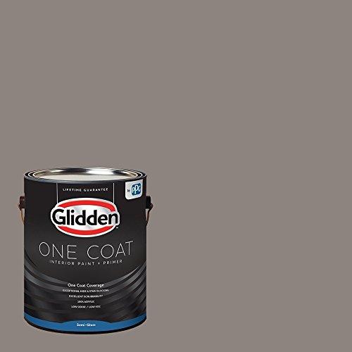 Glidden Interior Paint + Primer: Gray/Elephant Gray, One...