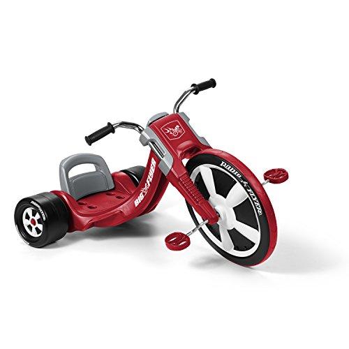Radio Flyer- Juegos de Viaje Y de Bolsillo Bicicletas, Color Rojo (474A)