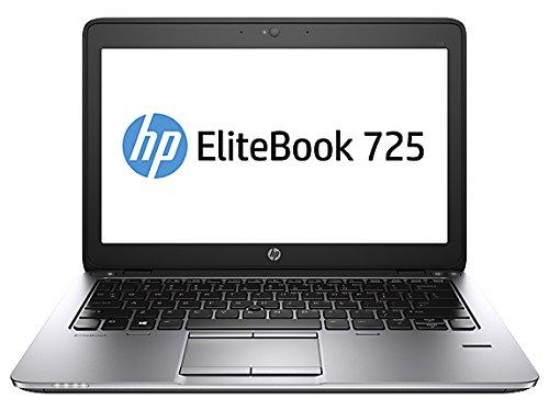 HP EliteBook 725 G2 - Ordenador portátil (Portátil, Negro, Plata, Concha, A10-7350B, AMD A, AMD A76M FCH)