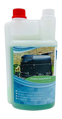 KaiserRein Anhänger Reiniger 1L gründlich absorbiert unangenehme Gerüche Pferde-Transporter und Pferde-anhänger Reinigungsmittel