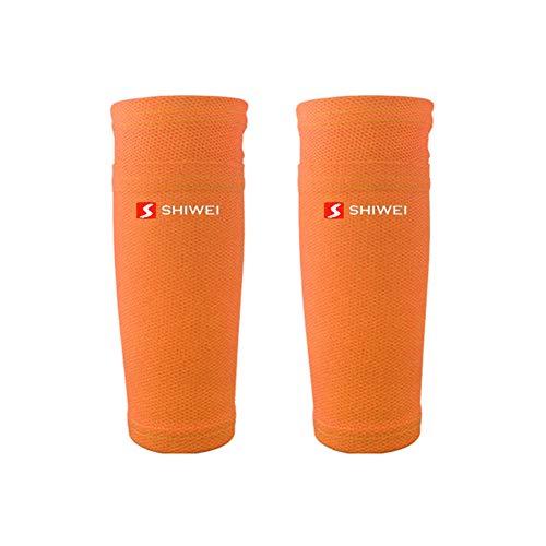Etophigh 1 paar beenwarmers anti-zweet ademende gamassen sport voetbal voetbal sokken onderbeenwarmer beschermhoes voor kinderen, volwassenen