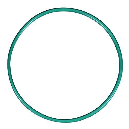 sourcing map O-Ringe aus Fluorkautschuk, 60 mm Außendurchmesser 56 mm Innendurchmesser 2 mm Breite FKM-Dichtung für Maschineninstallationen, grün, Packung mit 1 Stück