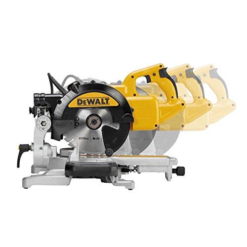 DeWalt 1.300 Watt Paneelsäge (216 mm Sägeblatt-ø, extrem leichte und kompakte Paneelsäge, ideal für die Montage, AirLock kompatibel), DWS773 - 7