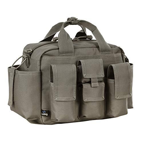 LA Police Gear Tactical Nylon Bail Out Gear Range Bag-Foilage