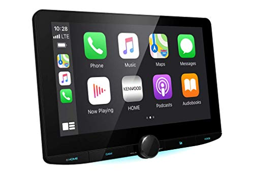 "Kenwood Car Audio DMX9720XDS 10.1"" HD Mechless Multimedia DAB+ Receiver with Advanced Smartphone Control"