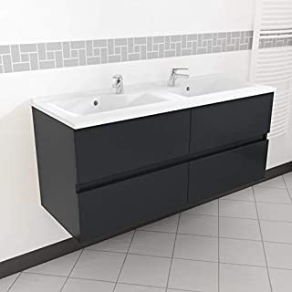 Amazon.fr : meuble salle bain double vasque design