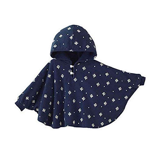ieasysexy Winter Warm Double-Side Wear Hood Cape Poncho Coat for...
