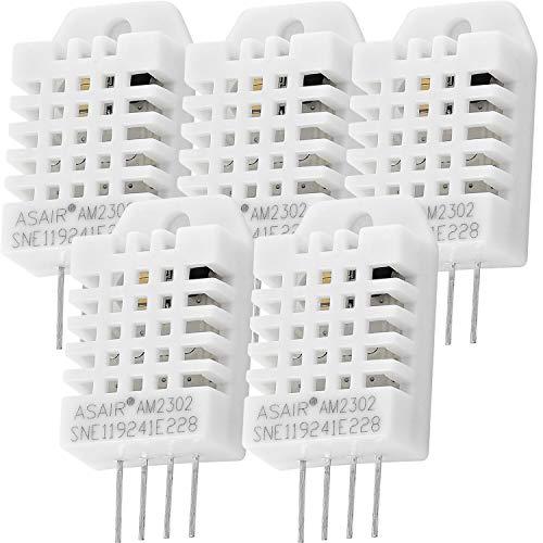AZDelivery 5 x DHT22 AM2302 Temperatursensor und Luftfeuchtigkeitssensor für Arduino