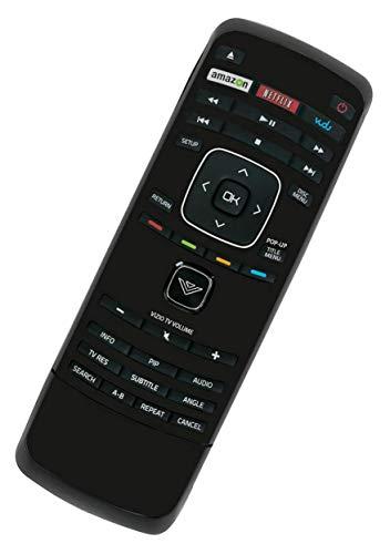 Blu Ray DVD Player Remote Control fits for Vizio VBR121 VBR122 VBR337 VBR338 VBR370 VBR135 XRB100 XRB300 XRD2BR with Vudu Netflix Shortcut Internet APP Keys
