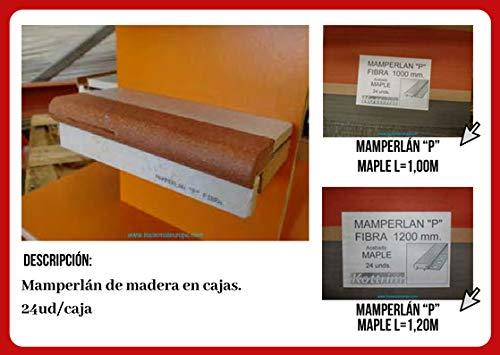 Mamperlán fibra para peldaño y escalera (1,20): Amazon.es: Bricolaje y herramientas