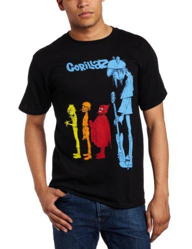 FEA Merchandising Gorillaz Herren T-Shirt Rock The House Gr. M, Schwarz