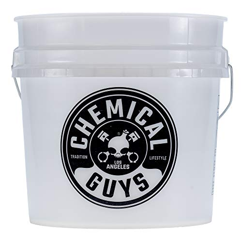 Chemical Guys ACC_103 Heavy Duty Detailing Bucket with Chemical Guys Logo, 4.5 Gal