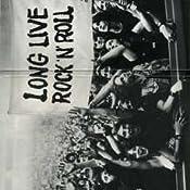 Grillsch/ürze Spr/üche Long Live Rock N ROLL VERSTELLBAR