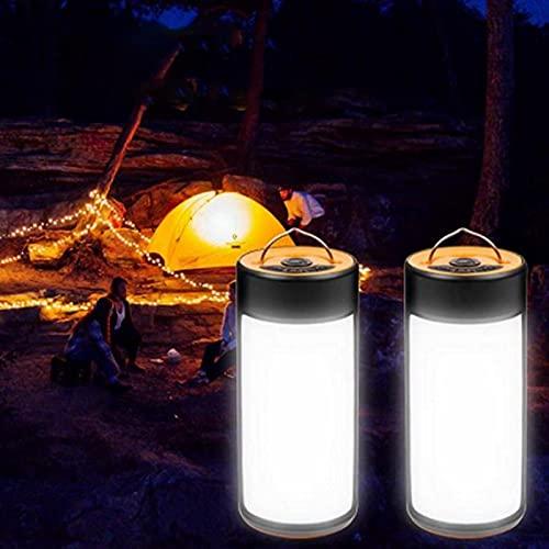 UISY 2 Stück Campinglampe, LED Camping...