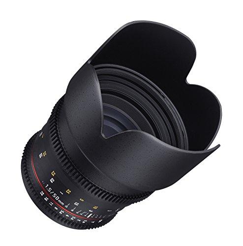 Samyang Cine 50mm T1.5como SI UMC Full Frame Lente Cine