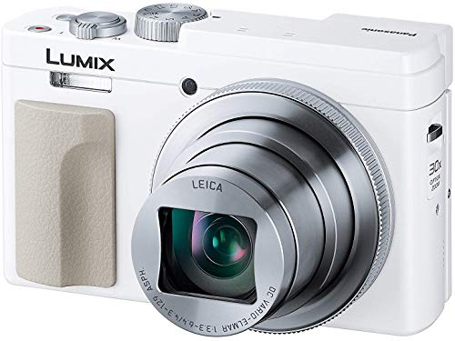パナソニック コンパクトデジタルカメラ ルミックス TZ95 光学30倍 ホワイト DC-TZ95-W