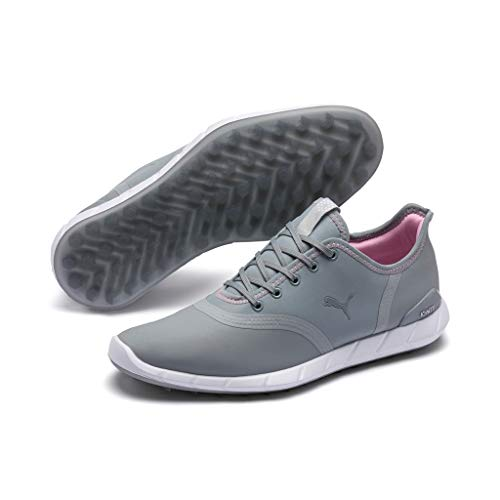 PUMA Ignite Statement Low WP Dames Low Boot Golfschoenen Grijs