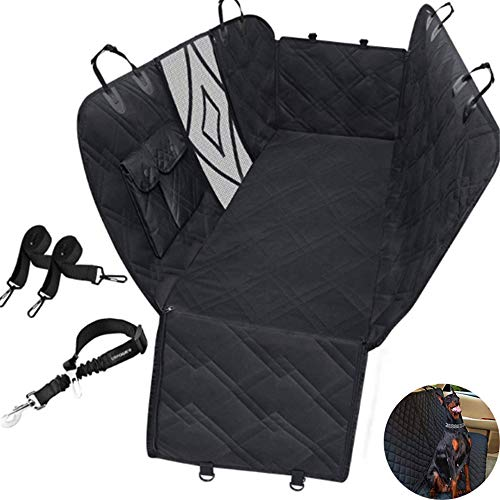 Dog Seat Cover Car Seat Cover for Pets, Waterproof Pet Seat Cover Hammock, Heavy Duty Scratch Proof Nonslip, for Cars Trucks And SUV,L