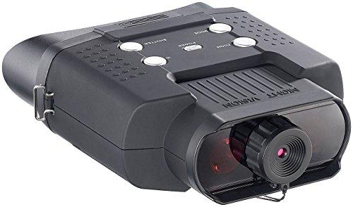 Zavarius Nachtsicht Binokular: Nachtsichtgerät DN-700, Binokular, bis 400 m Sichtweite, SD-Aufnahme (Nachtfernglas)