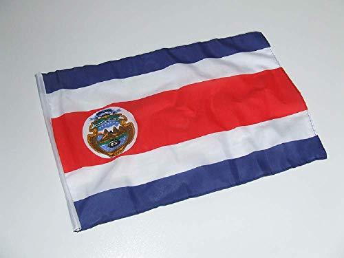 generisch Costa Rica Fahne/Flagge 30x45 cm mit Hohlsaum
