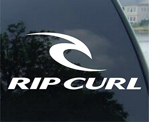 Rip Curl Fenster-Aufkleber Surf Skateboard
