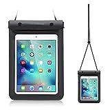 Universal Waterproof Tablet Case Dry Bag Pouch for 7 - 8 Inch iPad Mini 4 / 3 / 2, Samsung Galaxy Tab 4 / 3, Tab S2, Tab E, Tab A 8.0, Galaxy Kids Tab E Lite 7, Asus Google Nexus 7