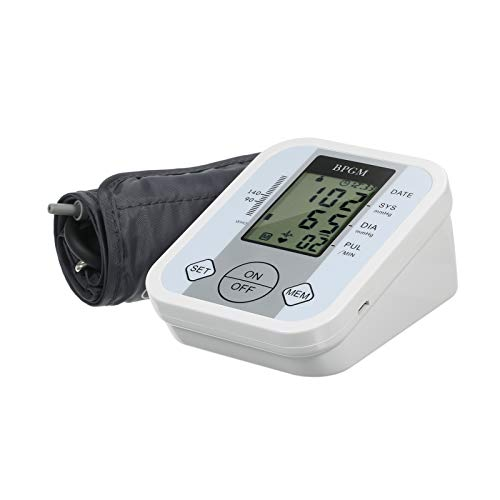 Galapara Blutdruckmessgerät Oberarm, Elektronisches Blutdruckmessgerät, elektronisches Blutdruckmessgerät am Handgelenk Intelligentes intelligentes Blutdruck Pulsmessgerät mit 99 Speichergruppen