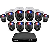 Swann DVR-4680 16-Channel Full HD 2TB Security System with 10x PRO-1080SL Enforcer 'Police-Style' Flashing Light Cameras