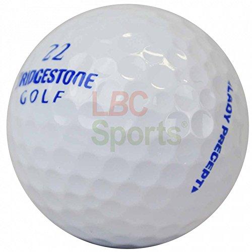 LBC-sports 50 Bridge Stone Precept Lady - PREMIUM selection AAAAA - - colore bianco - Lake balls - palline da golf usate con palline - stagno