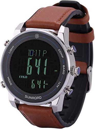TYUI Smart Watch Ip68 - Reloj inteligente impermeable para deportes con presión arterial, frecuencia cardíaca, monitor de sueño, podómetro