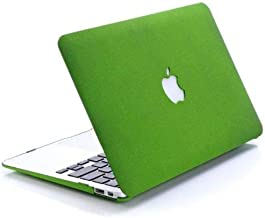Frost Matte Surface Rubberized Hard Shell Case Cover For MacBook Pro 13 Inch Green