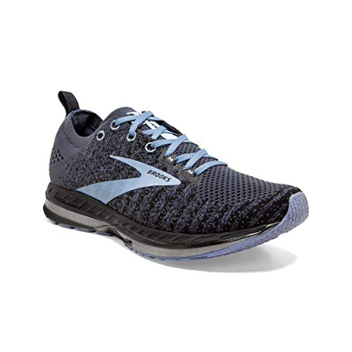 Brooks Womens Bedlam 2 Running Shoe - Black/Grey/Kentucky Blue - B - 5.5