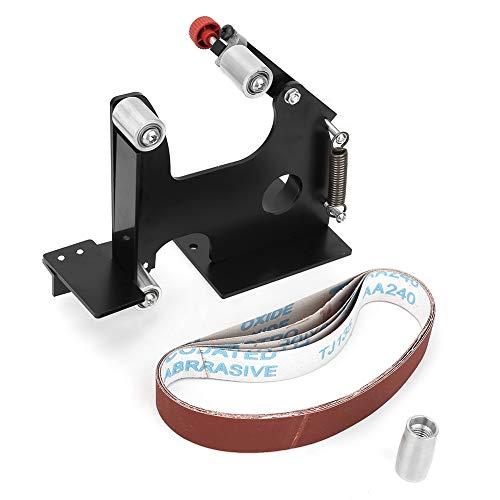 Elektrischer Winkelschleifer, Schleifband-Adapter-Set, Wechselsatz 115/125/150 mm Elektrischer Winkelschleifer in Bandschleifer passend für M14 Spindel-Winkelschleifer