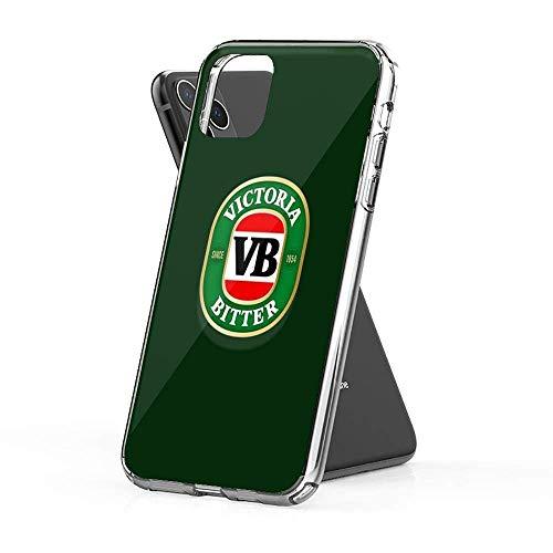 KHDCCV Compatible con iPhone SE 2020/7/8 Funda Victoria Bitter Beer Pure Clear Protección contra Caídas Cajas del Teléfono Cover