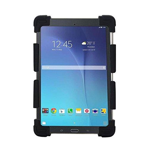 Funda de silicona / soporte universal, extensible y ajustable a prueba de golpes para Tablets, PCs, iPads Samsung Chuwi de 8,9 /9/10.1/11/12 pulgadas Tablets negro