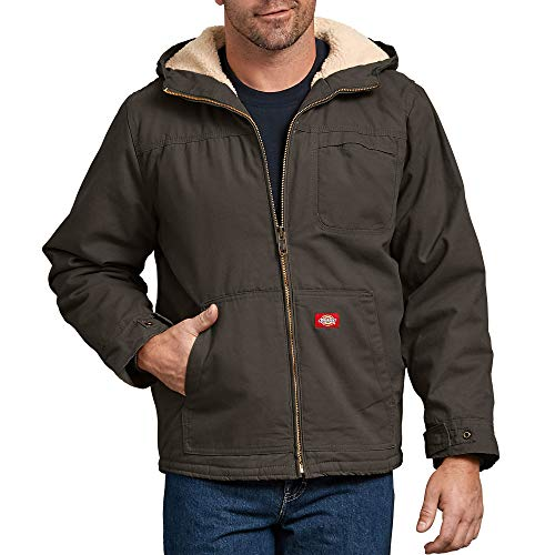 737b081f08cb Where to buy Dickies Men s Sanded Duck Sherpa Lined Hooded Jacket ...