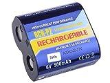 Batería fotográfica Recargable CR-P2, DL223A Li-Fe 6 V 500 mAh 3 WH.
