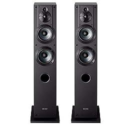 top rated Sony SS-CS3 4-Way Floor Stand Speaker with 4 Speakers-Pair (Black) 2021
