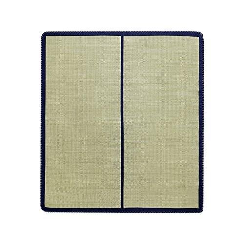 Tapis d'herbe naturelle de haute qualité sélectionné par coeur Tapis de qualité de Tatami Tapis d'importation d'herbe, tissage fin et durable Tapis de bambou simple Xuan - worth having ( taille : 120*200cm )