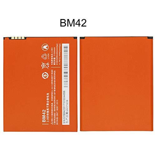 Batería Original de 3200 mAh para Xiaomi Redmi Note/Note 4G Batería Batería para teléfono móvil Acumulador Recargable-Naranja