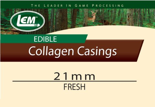 LEM Products Fresh Clear Edible Collagen Casing (21mm)
