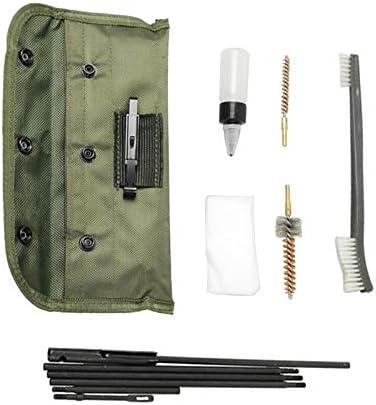 Kit de Nettoyage de Chasse pour Tous Les Outils de pinceaux pour calibres de 9 mm avec Pochette Portable 16 pi/èces LSB-Hunting