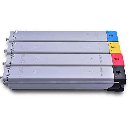 YCYZ Reemplazo del Cartucho de tóner de Color Compatible con Modelo CLT-K809S para Samsung 9301 9201 9251 Tinta de Impresora láser de Color 4-Color-Set