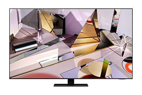 """Samsung TV QE55Q700TATXZT Smart TV 55"""", Serie Q700T QLED, 8K, Wi-Fi, Classe di Efficienza Energetica B, 2020, Titan Black"""